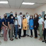 Dirección de hospital Robert Reid Cabral reapertura sala de neumología